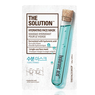 The Solution Mask Sheet Hydrating