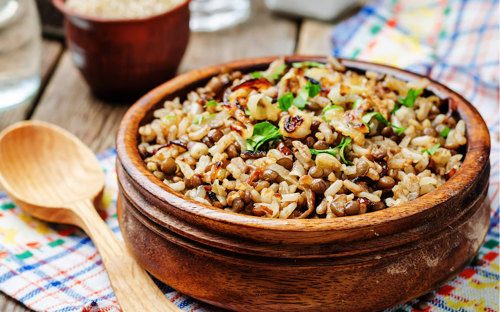Perfect Brown Rice Pilaf
