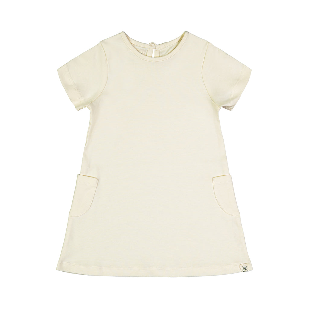 Loved Again Short Sleeve Pocket Dress