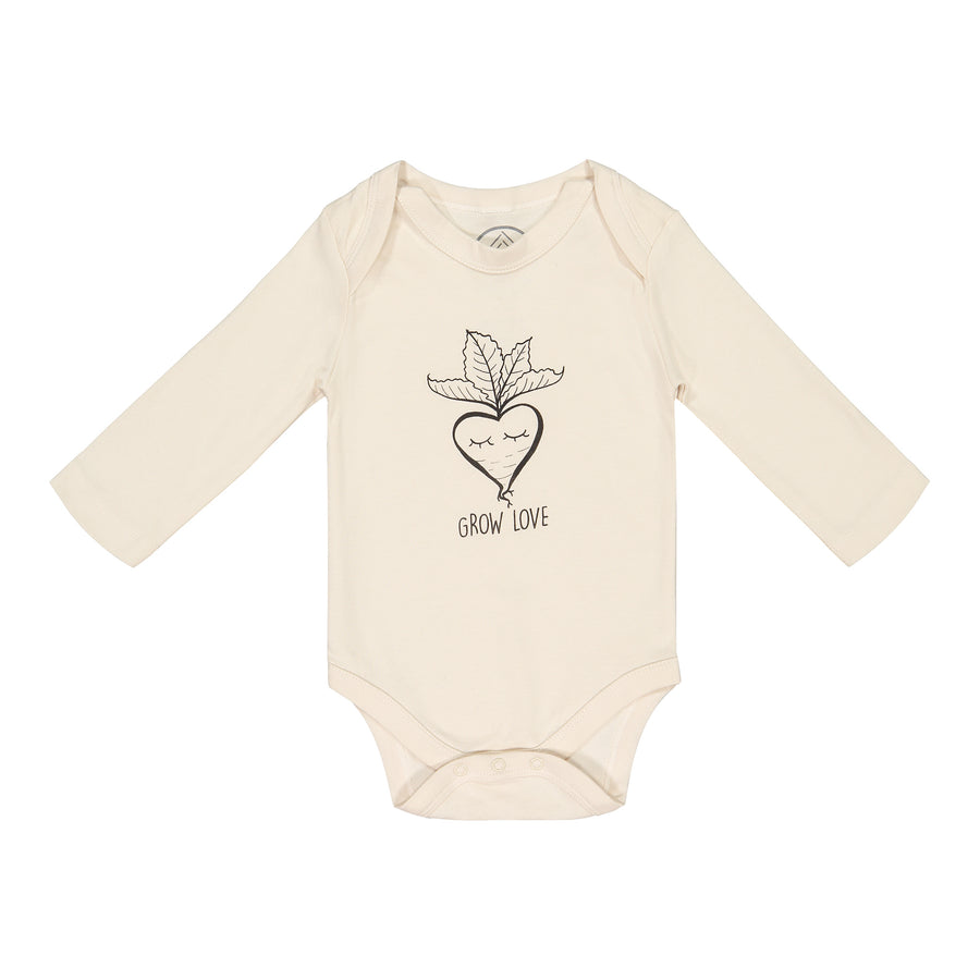 Grow Love Long Sleeve Bodysuit