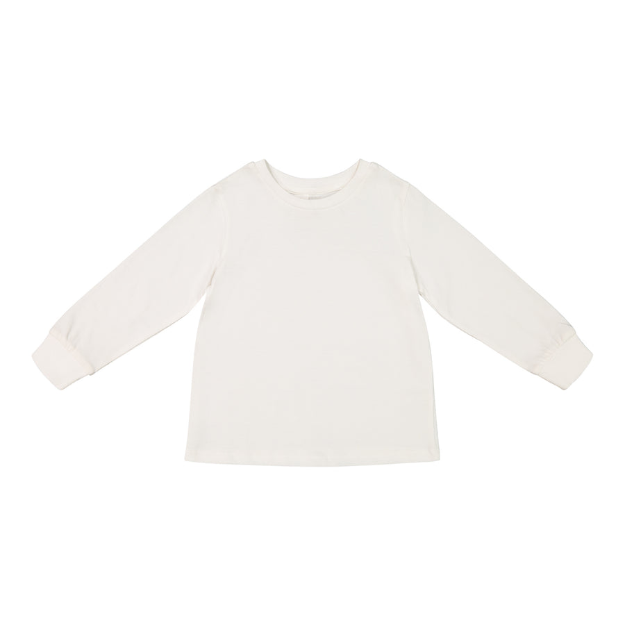 Classic Long Sleeve Crew Neck Tee