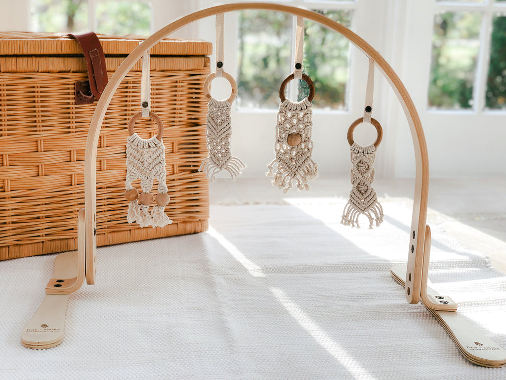 Macrame Baby Play Gym