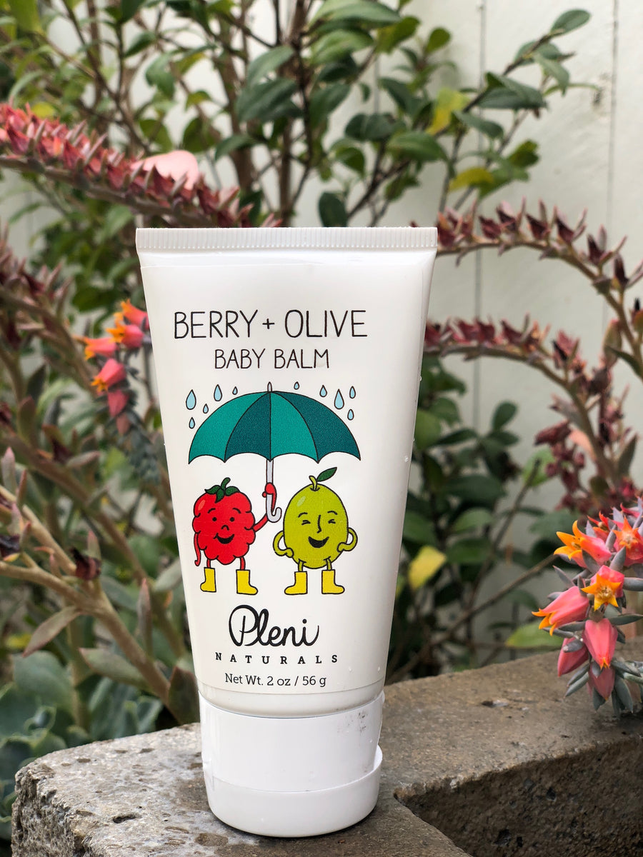 Pleni Naturals Berry + Olive Baby Balm