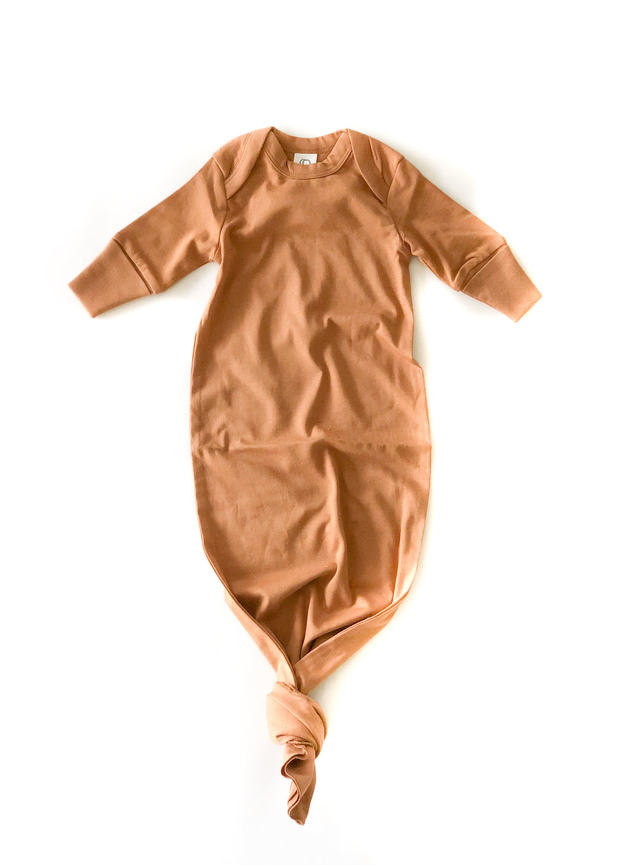 Organic Newborn Sleeper Gown