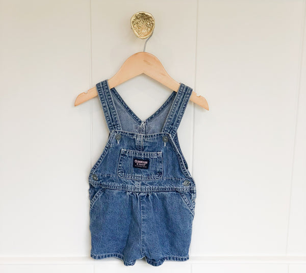 Vintage Oshkosh Pink Label Shorts Overalls