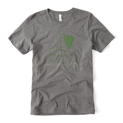 Limited Edition I Love Besa T-Shirt
