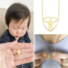 A perfect necklace for a mom with a son