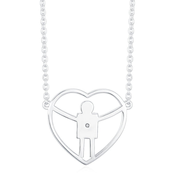 A perfect necklace for a mom with a boy
