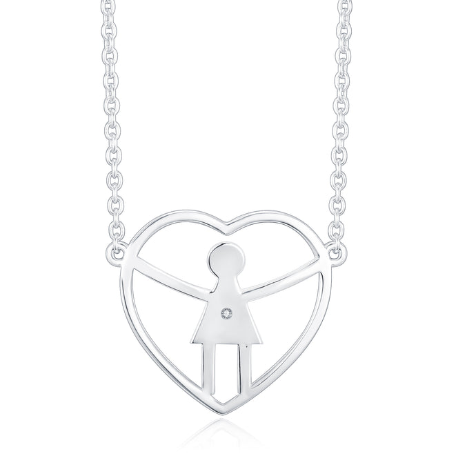 A perfect necklace for a mom with a daughter