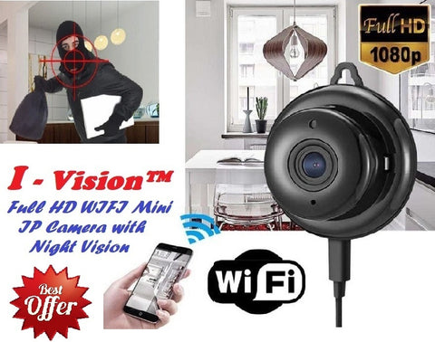 I - Vision™ - Full HD WIFI Mini IP Camera with Night Vision