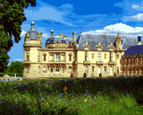 European Castles (138) - Château de Chantilly, France - Van-Go Paint-By-Number Kit