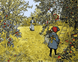 The Apple Harvest by Carl Larsson (139) - Van-Go Paint-By-Number Kit