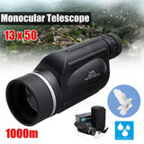 Waterproof HD 13x50 Flux Monocular Spotting Scope