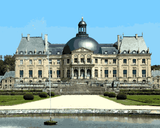 European Castles (153) - Château de Vaux le Vicomte, France - Van-Go Paint-By-Number Kit
