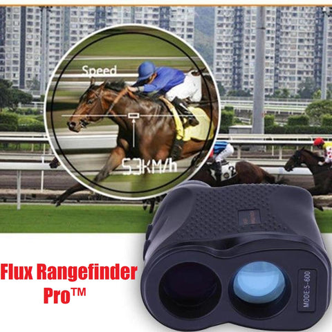 Flux Rangefinder Pro™ - Monocular Telescope with Laser Sensor for Speed and Distance - MaxStore4U