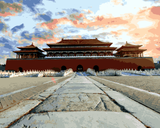 Amazing Places (170) - Forbidden City, Beijing, China - Van-Go Paint-By-Number Kit