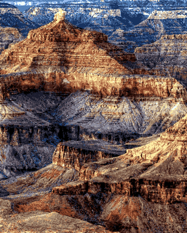 Amazing Places (194) - Grand Canyon, Arizona - Van-Go Paint-By-Number Kit