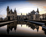 European Castles (195) - Moszna Castle, Poland - Van-Go Paint-By-Number Kit