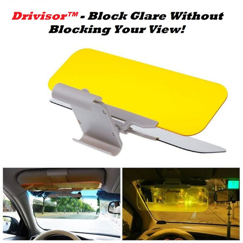 Drivisor™ - Block Glare Without Blocking Your View! for Day and Night! - MaxStore4U