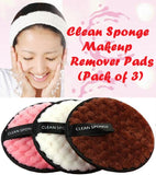 Clean Sponge Makeup Remover Pads (Pack of 3) - MaxStore4U