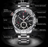 CARRERA CALIBRE - Top Luxury Men's Watch Series by PAGANI - MaxStore4U