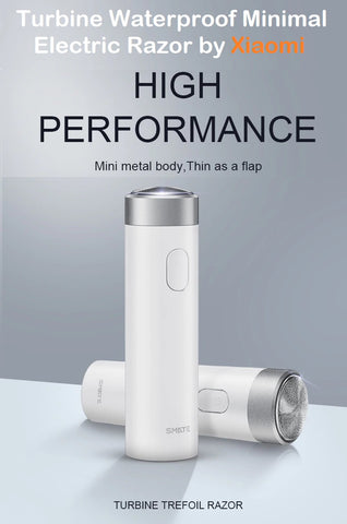 Turbine Waterproof Minimal Electric Razor by Xiaomi