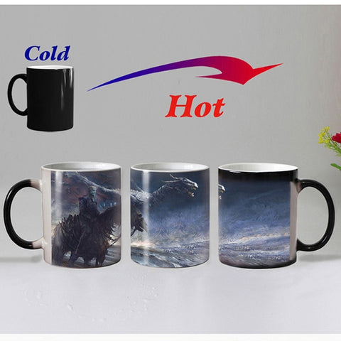 Game Of Thrones  Dire Wolf Magic Color Changing Mug