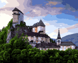 European Castles (200) - Orava Castle, Slovakia - Van-Go Paint-By-Number Kit