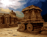 Amazing Places (210) - Hampi, India - Van-Go Paint-By-Number Kit