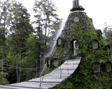 Amazing Places (221) - Hotel La Montana Magica, Huilo, Chile  - Van-Go Paint-By-Number Kit