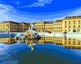 European Castles (229) - Schönbrunn Palace, Austria - Van-Go Paint-By-Number Kit