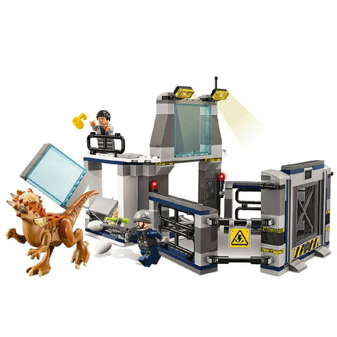 Jurassic World Stygimoloch Observation Deck Lab Breakout 234 Building Blocks - 2019 Christmas Kids Gift