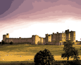 European Castles (253) - Alnwick Castle, England - Van-Go Paint-By-Number Kit