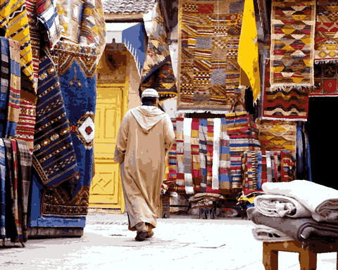 Amazing Places (304) - Marrakech, Morocco - Van-Go Paint-By-Number Kit