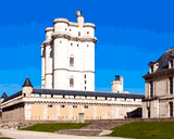 European Castles (309) - Château de Vincennes, France - Van-Go Paint-By-Number Kit
