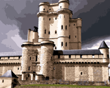 European Castles (313) - Château de Vincennes, France - Van-Go Paint-By-Number Kit