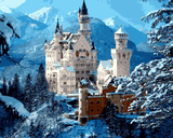Amazing Places (351) - Neuschwanstein Castle, Germany - Van-Go Paint-By-Number Kit