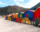 Amazing Places (353) - Muizenberg Beach, Cape Town, South Africa - Van-Go Paint-By-Number Kit