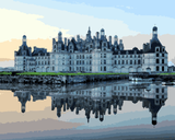 European Castles (35) - Château de Chambord, France - Van-Go Paint-By-Number Kit