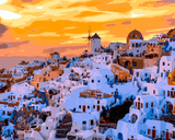 Amazing Places (362) - Oia, Santorini, Greece - Van-Go Paint-By-Number Kit