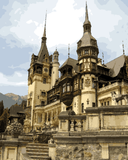 Amazing Places (383) - Peles Castle, Romania - Van-Go Paint-By-Number Kit