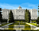 European Castles (395) - Royal Palace of Madrid, Spain - Van-Go Paint-By-Number Kit