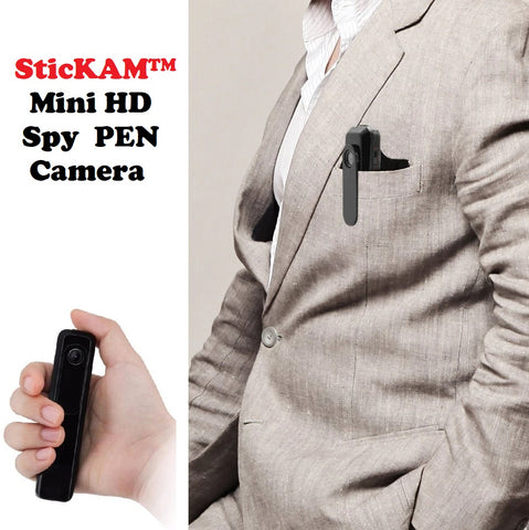 SticKAM™ - Mini HD Spy PEN Camera with Voice Recorder