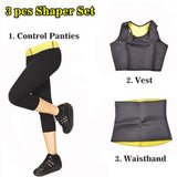 Sweat & Slim™ - Super Hot Neoprene Slimming Shaper Set