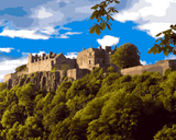 European Castles (409) - Stirling Castle, Scotland - Van-Go Paint-By-Number Kit
