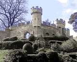 European Castles (456) - Warwick Castle, England - Van-Go Paint-By-Number Kit