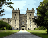 European Castles (467) - Windsor Castle, England - Van-Go Paint-By-Number Kit