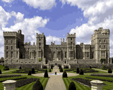 European Castles (470) - Windsor Castle, England - Van-Go Paint-By-Number Kit