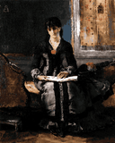 Famous Portraits (48) - Portrait of a Young Woman by Alfred Stevens - Van-Go Paint-By-Number Kit