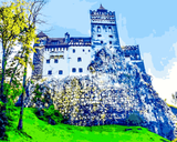 European Castles (494) - Bran Castle, Romania - Van-Go Paint-By-Number Kit